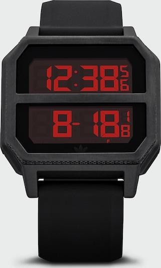 ADIDAS ORIGINALS Unisex-Uhren Digital Quarz in schwarz, Produktansicht