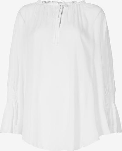 BLOOM Tunika mit V-Ausschnitt in weiß, Produktansicht