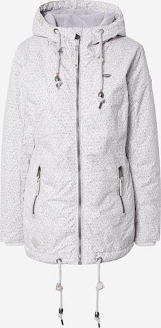 Ragwear Between-Season Jacket 'ZUZKA DIAMOND' in Grey