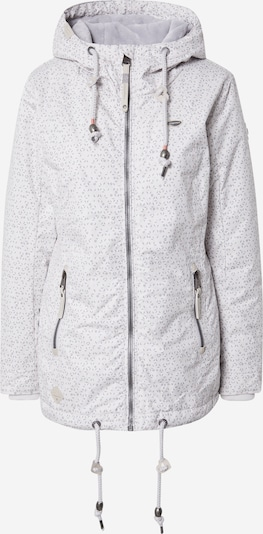Ragwear Jacke 'ZUZKA DIAMOND' in hellblau / grau / hellgrau / pastellorange / weiß, Produktansicht