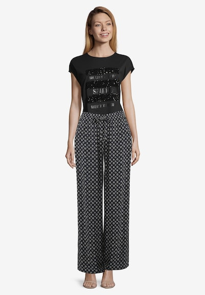Cartoon Culotte in grau, Modelansicht