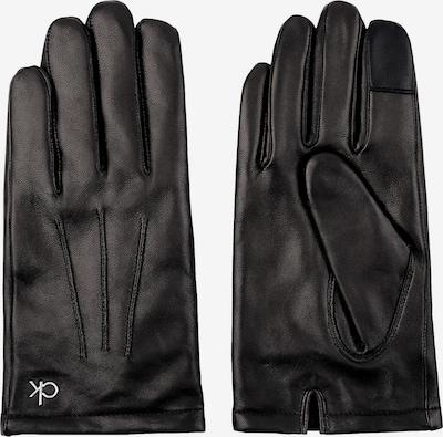 Calvin Klein Vingerhandschoenen in de kleur Zwart, Productweergave