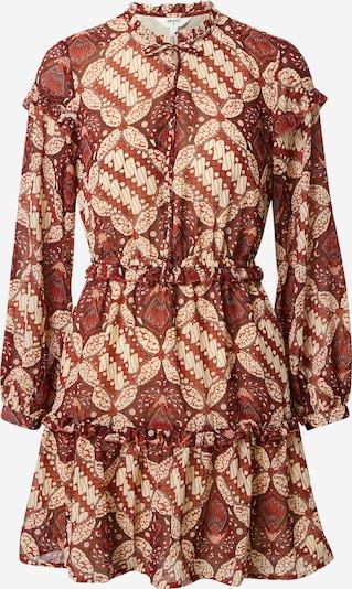 OBJECT (Petite) Kleid 'GRIVA' in beige / rot / weiß, Produktansicht