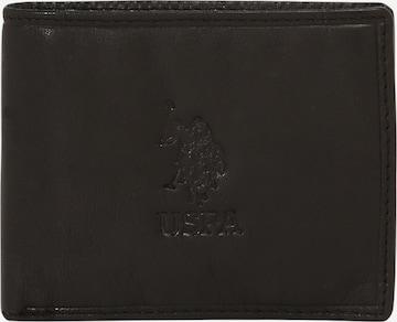 U.S. POLO ASSN. Wallet 'ULYSSES' in Black