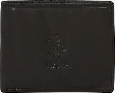 U.S. POLO ASSN. Portemonnee 'ULYSSES' in de kleur Zwart, Productweergave