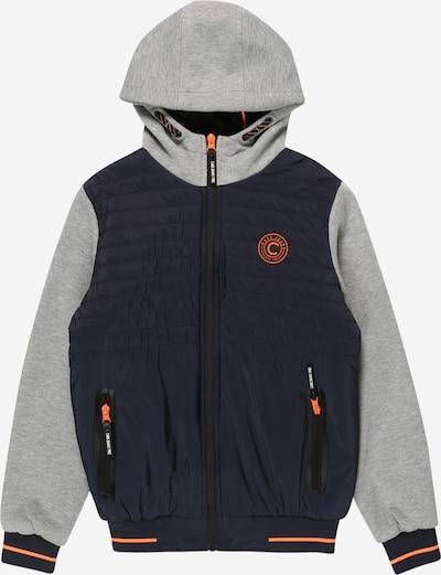 Cars Jeans Jacke 'BANTONY' in navy / hellgrau / orange, Produktansicht