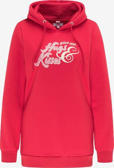 MYMO Sweatshirt in pink / grenadine, Produktansicht