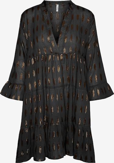 Vero Moda Curve Robe-chemise en bronze / noir, Vue avec produit