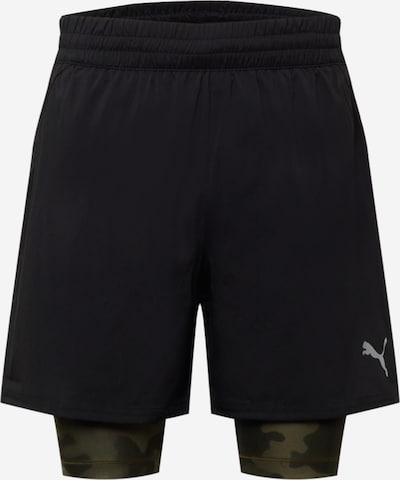 PUMA Παντελόνι φόρμας σε ανοικτό γκρι / λαδί / σκούρο πράσινο / μαύρο, Άποψη προϊόντος