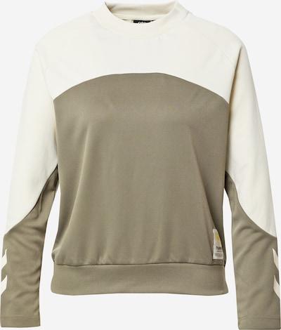 Hummel Sweatshirt in khaki / weiß, Produktansicht