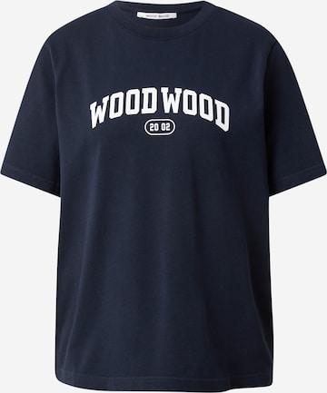 WOOD WOOD Shirt 'Alma' in Blau