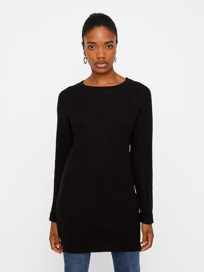 Noisy may Strickkleid 'Siesta' in schwarz, Modelansicht