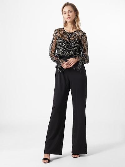 Adrianna Papell Combinaison en or / noir, Vue avec modèle