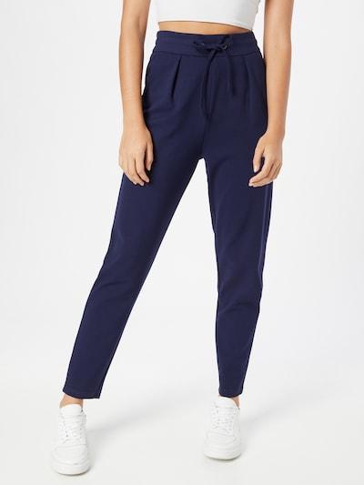 Klostuotos kelnės 'Fenja' iš ABOUT YOU, spalva – tamsiai mėlyna, Modelio vaizdas