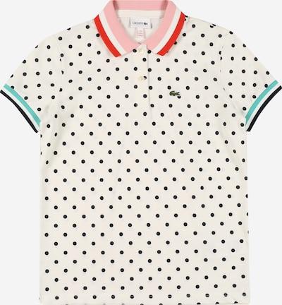 LACOSTE Shirt in de kleur Jade groen / Rosé / Rood / Zwart / Wit, Productweergave