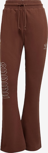 ADIDAS ORIGINALS Trousers '2000 Luxe' in Brown / Silver, Item view