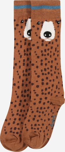 EWERS Sockor i ljusblå / brun / svart / vit, Produktvy
