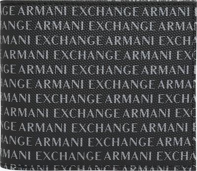 ARMANI EXCHANGE Kabatas portfelis pelēks / melns, Preces skats