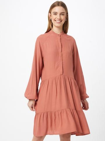mbym Shirt Dress 'Marranie' in Brown