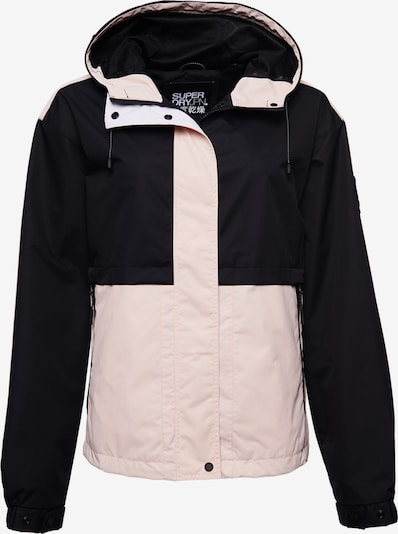 Superdry Jacke in hellpink / schwarz, Produktansicht