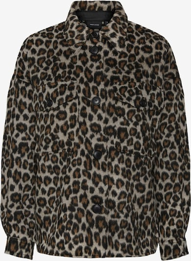 VERO MODA Between-Season Jacket 'Leony' in Cappuccino / Dark brown / Black, Item view