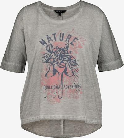 Ulla Popken Shirt in de kleur Grijs / Grijs gemêleerd / Pink, Productweergave