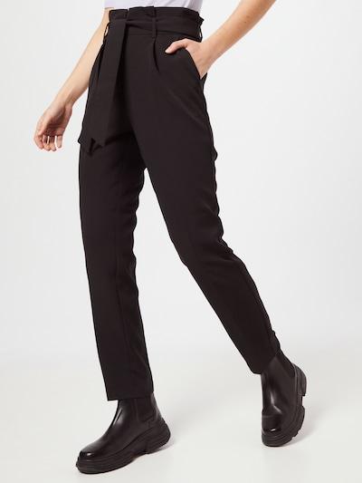 VILA Pantalon à pince 'HERI' en noir, Vue avec modèle