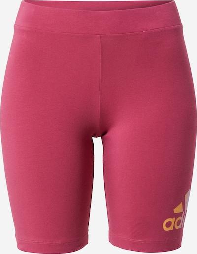 ADIDAS PERFORMANCE Pantalon de sport en orange / rose / blanc, Vue avec produit