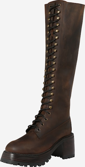 Jeffrey Campbell Lace-Up Boots in Brown, Item view