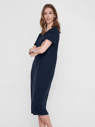 AWARE by Vero Moda Kleid in dunkelblau, Modelansicht
