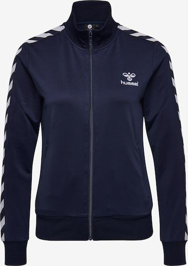 Hummel Zip Jacket in blau, Produktansicht