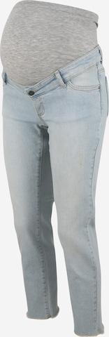 MAMALICIOUS Jeans 'Belle' i blå