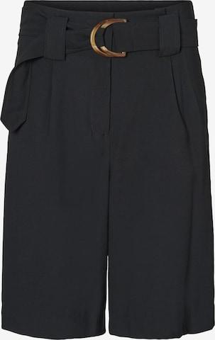 VERO MODA Plissert bukse 'ORLA' i svart