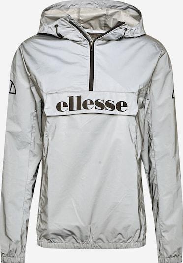 ELLESSE Sportjacke 'Acera' in schwarz / silber, Produktansicht