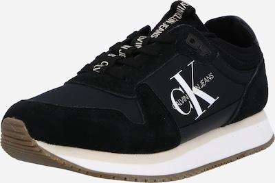 Sneaker low Calvin Klein pe negru / alb, Vizualizare produs
