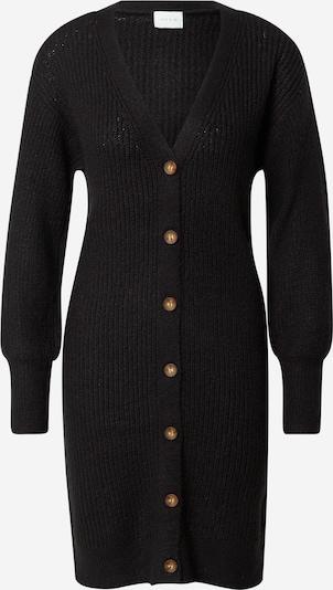 VILA Gebreid vest 'Ytal' in de kleur Zwart, Productweergave
