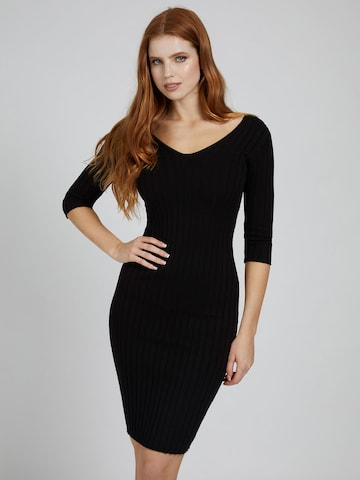 GUESS Knitted dress 'Gisele' in Black