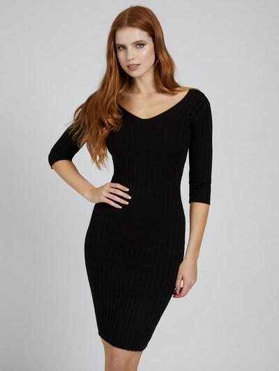 GUESS Kleid 'Gisele' in schwarz, Modelansicht
