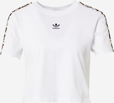 Maglietta ADIDAS ORIGINALS di colore beige / marrone / nero / bianco, Visualizzazione prodotti