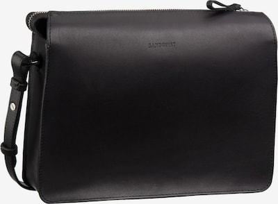 SANDQVIST Umhängetasche ' Franka Leather Shoulder Bag ' in schwarz, Produktansicht