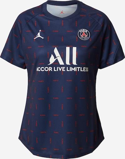 NIKE Sportshirt 'Paris Saint-Germain Home' in navy / rot / weiß, Produktansicht