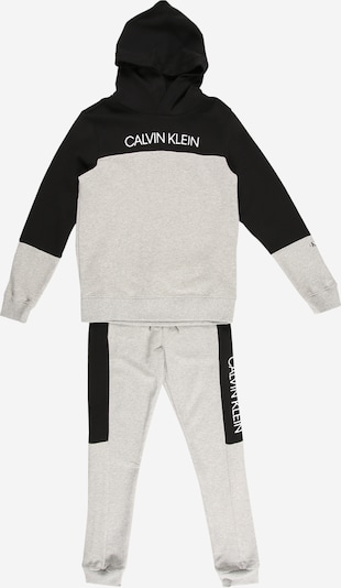 Calvin Klein Jeans Set in graumeliert / schwarz, Produktansicht