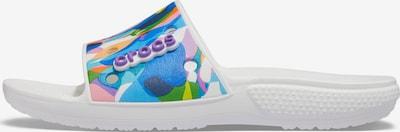 Crocs Schuh in blau / lila / orange / weiß, Produktansicht