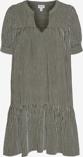 Vero Moda Aware Kleid 'Palmer' in oliv / weiß, Produktansicht