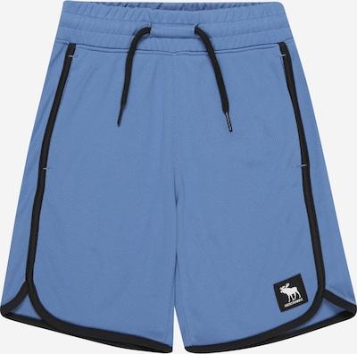 HOLLISTER Pantalon en bleu fumé / noir, Vue avec produit