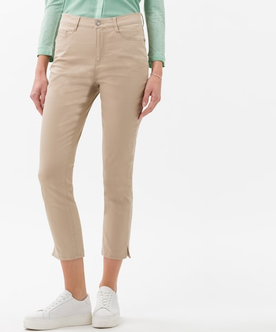 BRAX Jeans 'Mary' in de kleur Taupe, Modelweergave