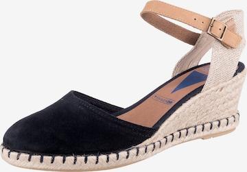 VERBENAS Sandale 'MALENA MAHON' in Blau