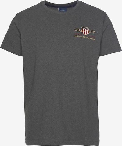GANT Shirt in Dark blue / Gold / Anthracite / Dark red, Item view