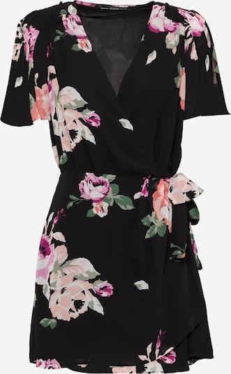 GUESS Šaty 'PERRIE' - krémová / olivová / ružová / biela: Pohľad spredu