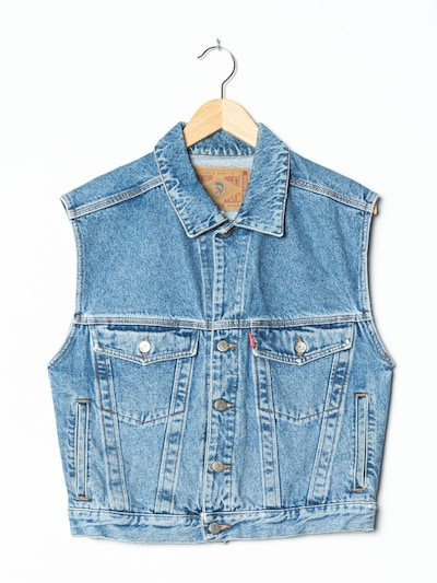 DIESEL Vest in L-XL in Blue denim, Item view
